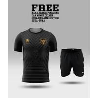 Setelan jersey dan celana timnas indonesia baju tim nasional kaos bola