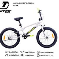 Sepeda Anak BMX 20 United Floss New
