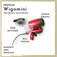 Premium Hairdrayer Hair Dryer Hairdryer Wigo Mini Wigo W - 350 Ori