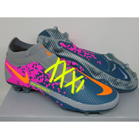 Sepatu Bola - Soccer Nike Phantom GT Dynamic Fit Grey Pink Turquoise