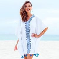 SERENITY BEACH TOP Bikini Outer Luaran Bra Kamisol Outwear Baju Pantai