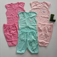 Baju Anak Bayi Perempuan Setelan Singlet Little Q Pakaian Baby SNI
