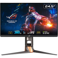 ASUS ROG Swift PG259QN Gaming Monitor 24.5 FHD, IPS, 360Hz, 1ms
