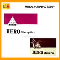 BAK STEMPEL - STAMP PAD HERO BESAR E1460 VIOLET ORIGINAL