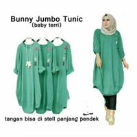 AP Bunny tunic jumbo,baju atasan muslim wanita fashion hijab terbaru