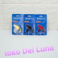 peluit olahraga SUNWAY whistle plastic + clip MCY313B