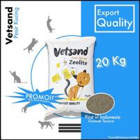 VETSAND Granule Cat Litter 20kg pasir kucing gumpal ter murah kualitas