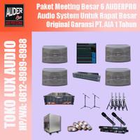 Distributor sound system audio meeting besar 6 YAMAHA AUDERPRO mantap