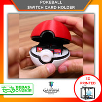 Nintendo Switch Game Card Holder Pokeball - Accessories 3D Print