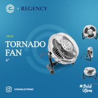 REGENCY Kipas Angin Besi Mini Tornado 6 Inch - DLX6