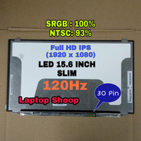 LED LCD Laptop MSI GS63 8RE GP62 GS60 GP60 15.6 INCH 120Hz IPS