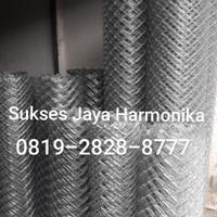 kawat harmonika galvanis 1,6mm tinggi 1,5 meter