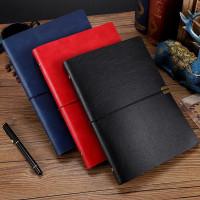 Triple W 4in1 Premium Leather Note Book Buku Kerja Catatan Agenda A5