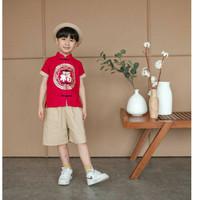 baju cheongsam anak laki impor uk 1-7thn