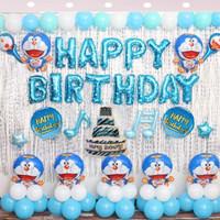 Dekorasi Ulang Tahun Doraemon Lengkap