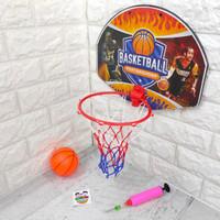 Papan Ring Bola Baket Jaring Mainan Olahraga Anak Basketball