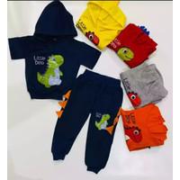 Hoodie Anak Sweater Anak Setelan Anak Setelan Dinosaurus Baju Anak