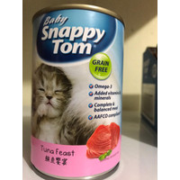 snappy tom baby kaleng 400gr tuna feast - Makanan Kucing Basah