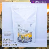 KOPI ARABIKA BRAZIL BOURBONUT NATURAL 250 GRAM | SUTOYO COFFEE
