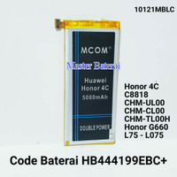 Baterai Mcom For Huawei Honor 4C HB444199EBC+ Double IC ORIGINAL
