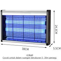 Insect Killer Perangkap Nyamuk Lalat Lampu UV 2 watt 4 watt