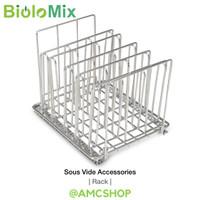 BioloMix Sous Vide Accessories Rack (Medium) Stainless Steel For Anova