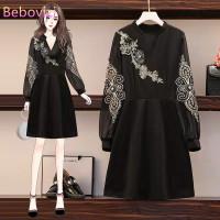 Import Classy Cheongsam Modern Hanfu Plus Size Big Jumbo Dress Imlek 2