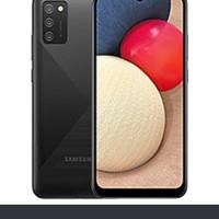 Samsung A02s ram 4/64 garansi resmi - Hitam