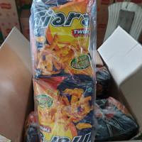Tiara Twist rasa jagung keju 1pack isi 10 @20gr