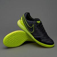 SEPATU FUTSAL MURAH IMPORT TERBARU Nike Tiempo X Proximo II Black Volt