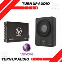 Paket audio mobil VENOM PANDORA 3.4 dan SUBWOOFER KOLONG VX 8.2 A