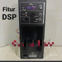 Power kit aktif/mesin aktif model huper dengan fitur procesor DSP