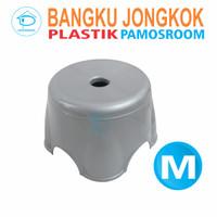 Pamosroom Kursi Jongkok Bangku Plastik Kursi Bulat Kursi Anak Plastik