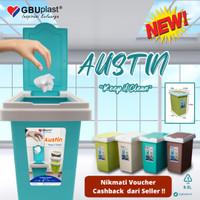 Tempat Sampah Plastik 9.5 Liter Merk GBU Plast - Austin
