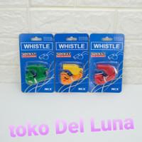 peluit olahraga SUNWAY whistle large plastic + strap MCY311