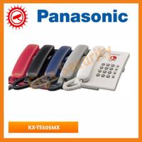 Pesawat Telepon Single Line Analog Panasonic KX-TS505 / telepon rumah
