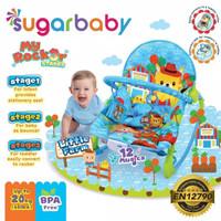 Sugar Baby My Rocker 3 Stage Baby Bouncer Kursi Bayi VARIAN TERLENGKAP - Biru