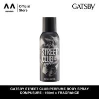 GATSBY Street Club Perfume Body Spray Composure