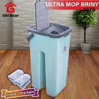 GM Bear Alat Pel Praktis Hijau 1079-Ultra Mop Briny Green
