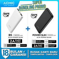 [Bundle] ACMIC PowerSlim 10000mAh + ACMIC B5 5000mAh PowerBank