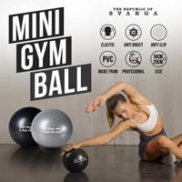 SVARGA Mini Gym Ball 25cm | FREE PUMP! | Stability Ball | Bola Pilates