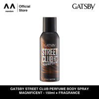 GATSBY Street Club Perfume Body Spray Magnificent