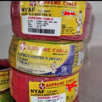 kabel supreme serabut nyaf 1x1.5 @ 50m