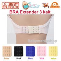 BRA Extension / Perpanjangan Lingkar BH 3 KAIT / Alat Sambung / BRA Ex