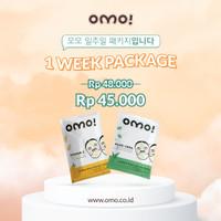 [BUNDLING] OMO! Cupra Sheet Mask - 1 Week Package (3 pcs)