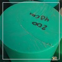UHMW PE1000 GREEN ROD Dia. 20mm x 1m
