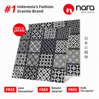 GRANITE NARA 60x60 cm / KAZO DECO BLACK - NA60DM010