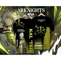 Baju Kaos Anime Game ARKNIGHT KAL'TSIT Full Print
