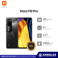 XIAOMI SMARTPHONE POCOPHONE M3 PRO 5G 6/128GB 6,5 INCH GARANSI RESMI