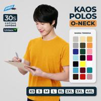 Tshirt / Kaos Polos Super Cotton 30s Unisex
